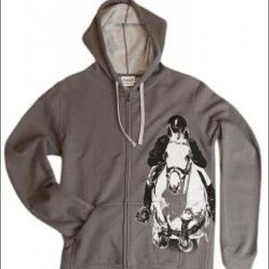 Tops - Horse Riding Hoodie Jumping horseback Equestrian